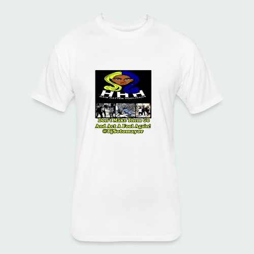 HHH - Fitted Cotton/Poly T-Shirt by Next Level