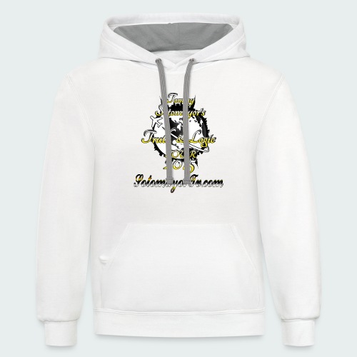 Tour... - Contrast Hoodie