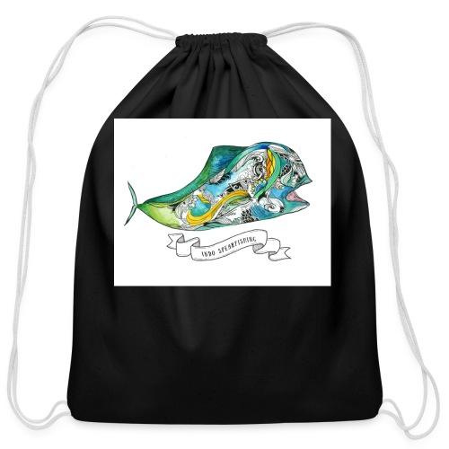 Mahi Mahi - Cotton Drawstring Bag