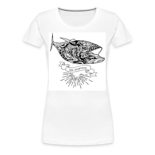 Dogtooth Tuna - Women's Premium T-Shirt