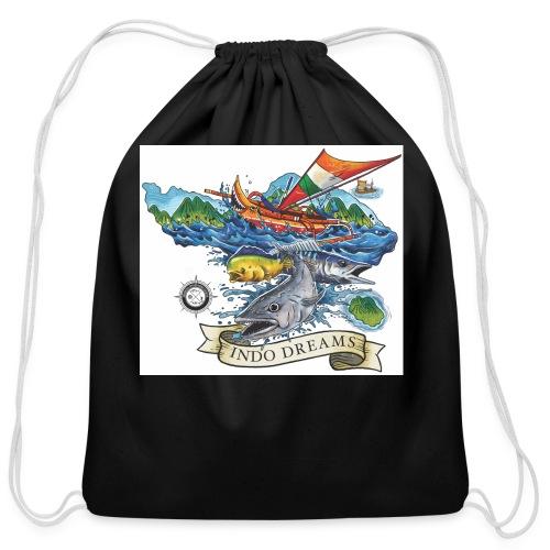 Indodreams - Cotton Drawstring Bag