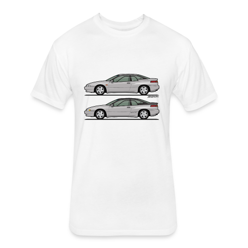 SVX Liquid Silver Duo - Fitted Cotton/Poly T-Shirt by Next Level