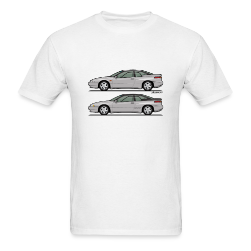 SVX Liquid Silver Duo - Men's T-Shirt