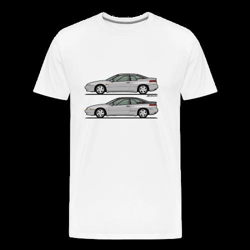 SVX Liquid Silver Duo - Men's Premium T-Shirt