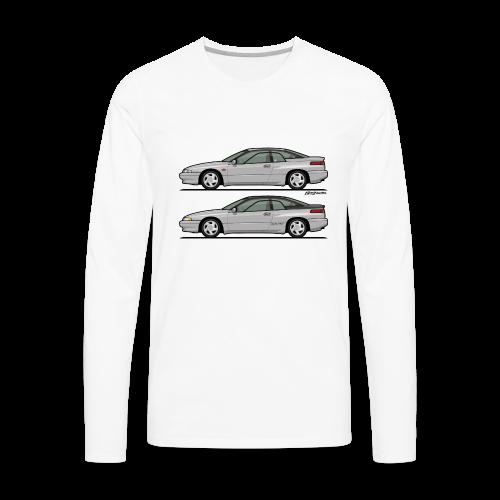 SVX Liquid Silver Duo - Men's Premium Long Sleeve T-Shirt