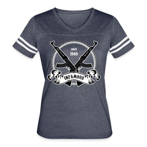 Infamous AK-47 - Women's Vintage Sport T-Shirt