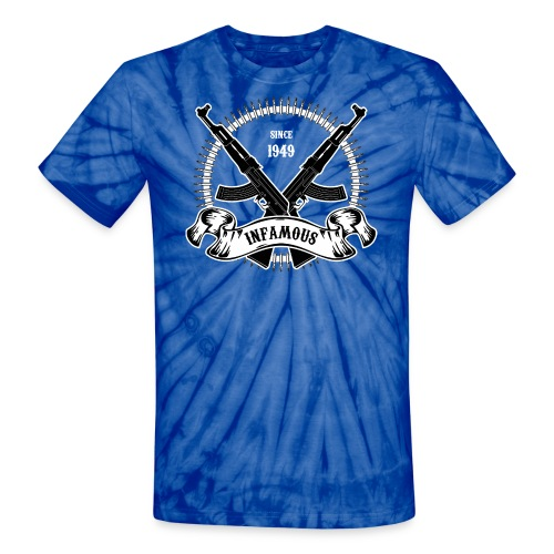 Infamous AK-47 - Unisex Tie Dye T-Shirt