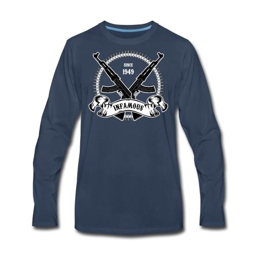 Infamous AK-47 - Men's Premium Long Sleeve T-Shirt