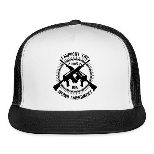 I Support The Second Amendment - Trucker Cap