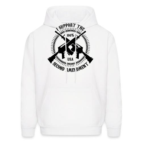 I Support The Second Amendment - Men's Hoodie