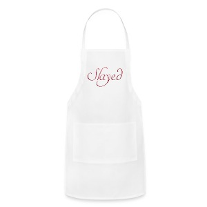 Slayed (pink text) - Adjustable Apron