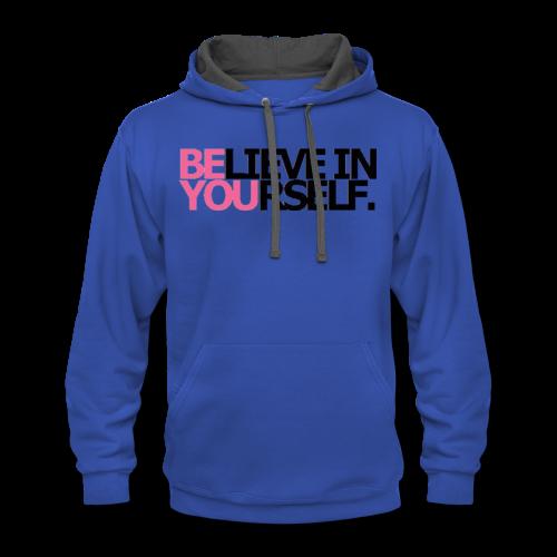 Be You - Contrast Hoodie