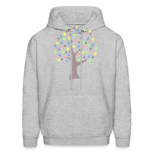 Memory Tree Pastel Shades  (Digital Print) - Men's Hoodie