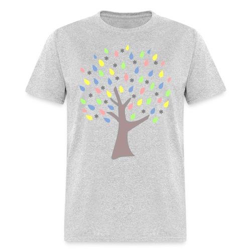 Memory Tree Pastel Shades  (Digital Print) - Men's T-Shirt