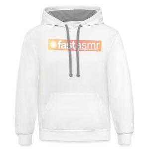 fastASMR Tee - Contrast Hoodie