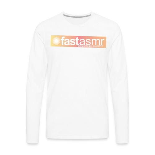 fastASMR Tee - Men's Premium Long Sleeve T-Shirt