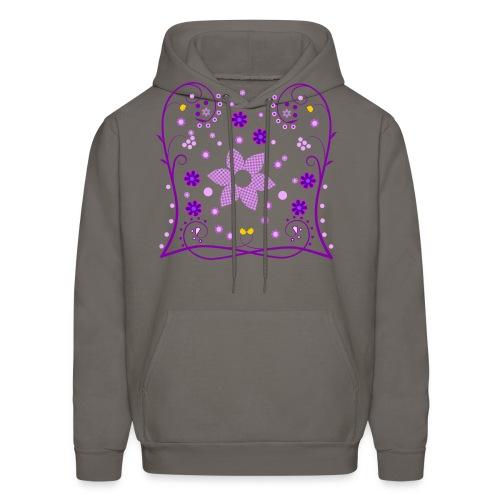 Spring Flowers Womens Shirt (Digital Print) - Men's Hoodie