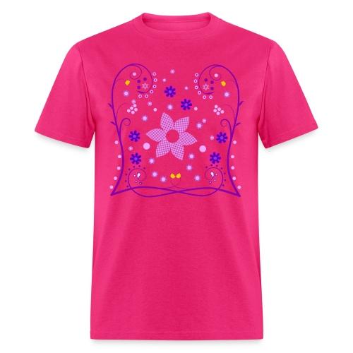 Spring Flowers Womens Shirt (Digital Print) - Men's T-Shirt