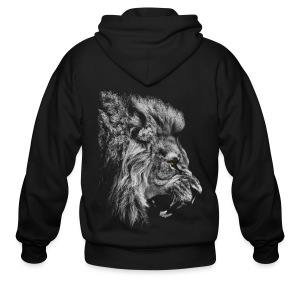 King of the Jungle - Men's Zip Hoodie