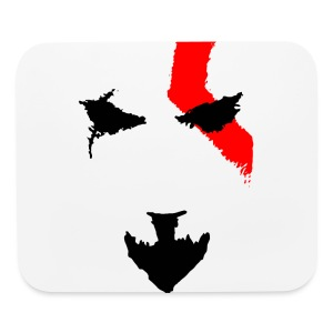 Kratos Minimal T-shirt - Mouse pad Horizontal