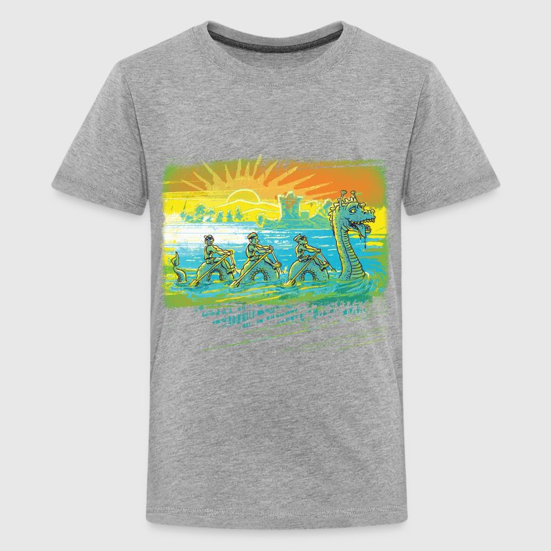 Skulling Team Loch Ness Monster - Kids' Premium T-Shirt