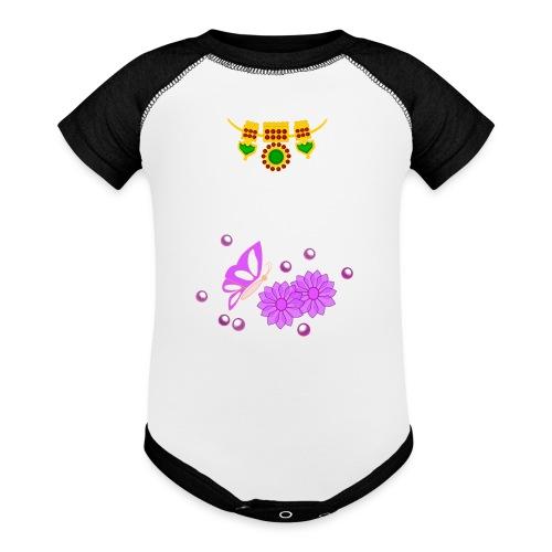 Special Day Kids T Shirt (Digital Print) - Contrast Baby Bodysuit