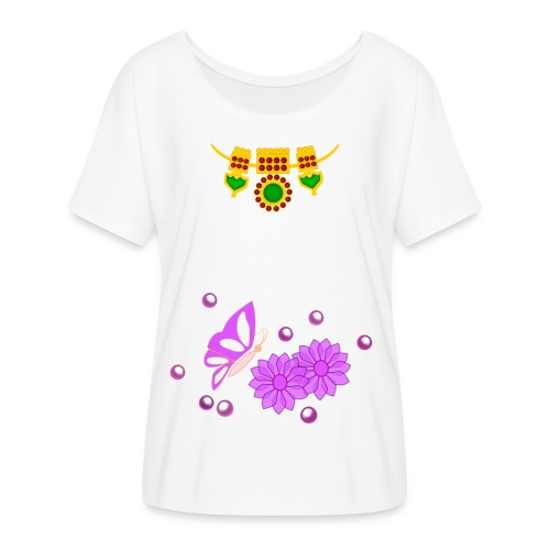 Special Day Kids T Shirt (Digital Print) - Women's Flowy T-Shirt