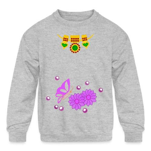 Special Day Kids T Shirt (Digital Print) - Kids' Crewneck Sweatshirt