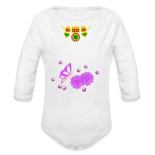 Special Day Kids T Shirt (Digital Print) - Organic Long Sleeve Baby Bodysuit