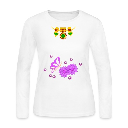 Special Day Kids T Shirt (Digital Print) - Women's Long Sleeve Jersey T-Shirt