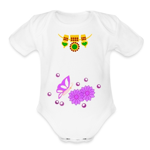 Special Day Kids T Shirt (Digital Print) - Organic Short Sleeve Baby Bodysuit
