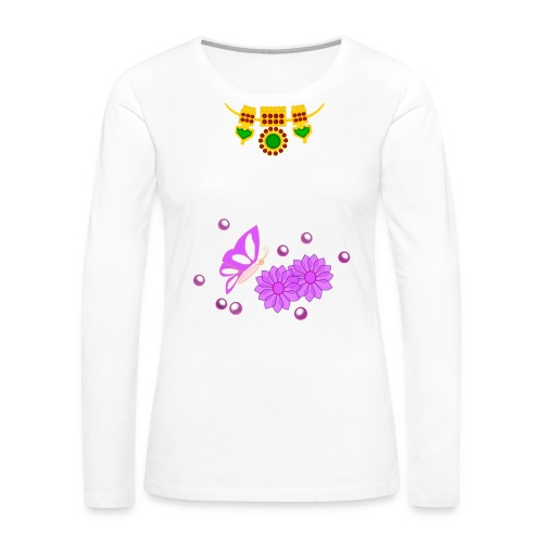 Special Day Kids T Shirt (Digital Print) - Women's Premium Long Sleeve T-Shirt