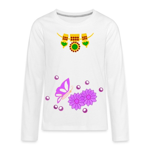 Special Day Kids T Shirt (Digital Print) - Kids' Premium Long Sleeve T-Shirt