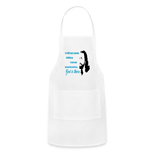 God is There - Adjustable Apron
