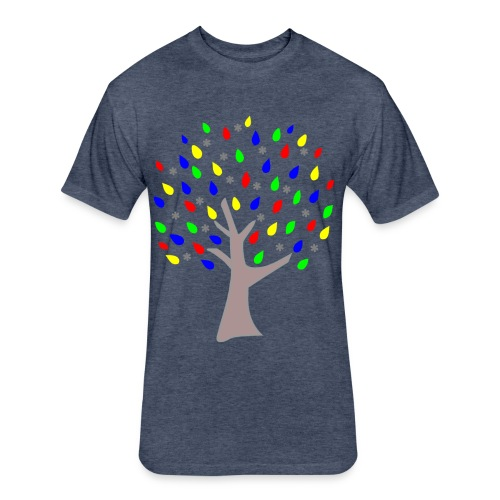 Memory Tree Kids T Shirt (Digital Print) - Fitted Cotton/Poly T-Shirt by Next Level