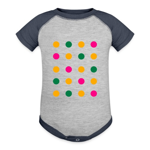 Connect The Dots Kids Ruffle Dress (Velvety Print) - Contrast Baby Bodysuit