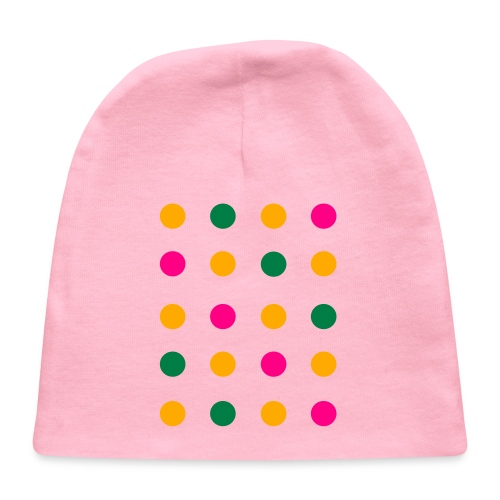 Connect The Dots Kids Ruffle Dress (Velvety Print) - Baby Cap