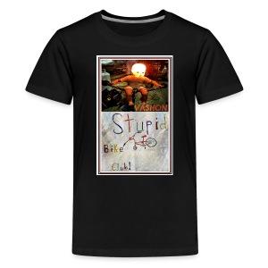Vashon Stupid Bike Club - Kids' Premium T-Shirt