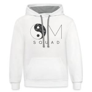 Om Squad - Women's Premium T-Shirt - Contrast Hoodie