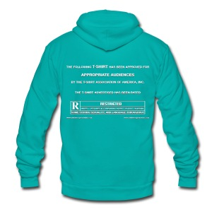 Film Trailer Green Screen - Unisex Fleece Zip Hoodie by American Apparel