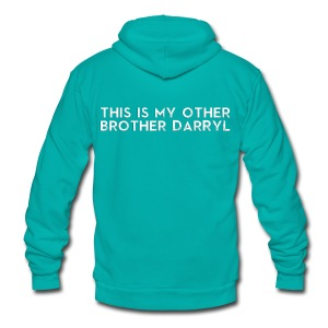 Other Brother Darryl - Unisex Fleece Zip Hoodie by American Apparel
