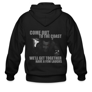 Come out to the coast - Men's Zip Hoodie