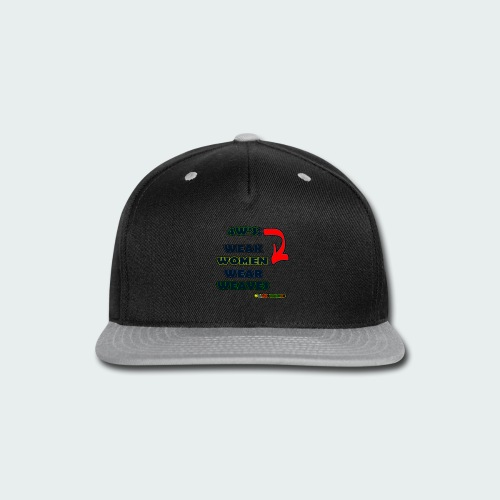 4W's - Snap-back Baseball Cap