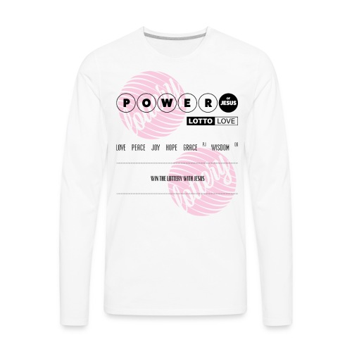 Lottery Love - Men's Premium Long Sleeve T-Shirt