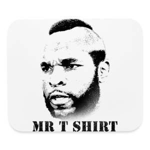 Mr T shirt (1) - Mouse pad Horizontal