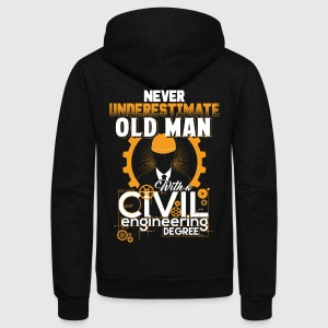 Civil engineering - Civil engineering t-shirt - Unisex Fleece Zip Hoodie by American Apparel