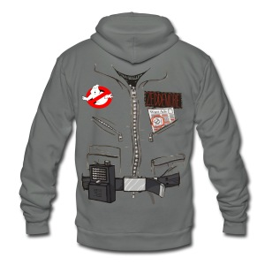 Zeddermore Costume - Unisex Fleece Zip Hoodie by American Apparel