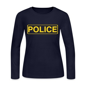 DEA Police Shirt - Women's Long Sleeve Jersey T-Shirt