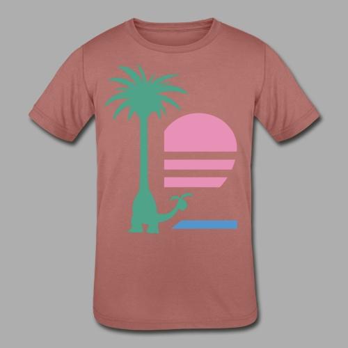 Alolan Paradise (Kids) - Kid's Tri-Blend T-Shirt