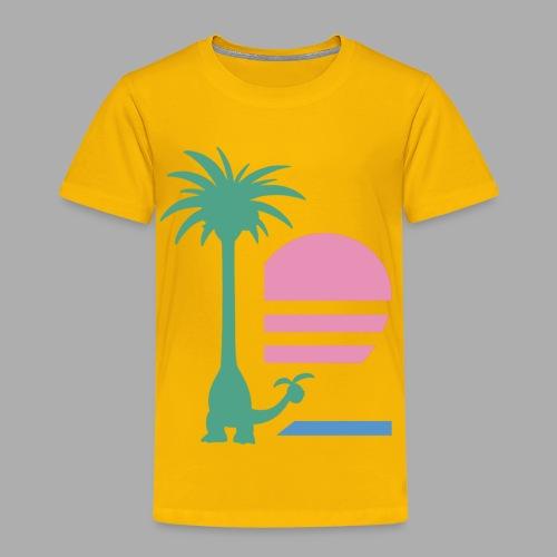 Alolan Paradise (Kids) - Toddler Premium T-Shirt